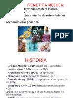 HISTORIA GENETICA