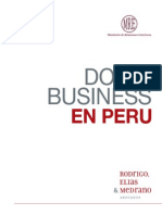 Doing Business in Peru 201