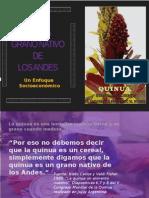 Diapositiva investigación quinua