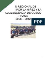 Plan Regional Cusco