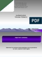 Quemaduras Pre Grado Luz. 2015 Editado