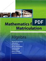 Math for Matric