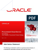 Saas Oracle Procurement Overview