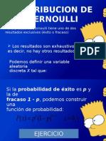 Distribución de Bernoulli Estadistica