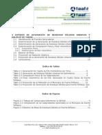 Modulo II Estudio Generacion RSU Balance Masa