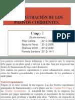 Administración de Los Pasivos Corrientes (DIAPOSITIVA)