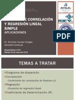 ANÁLISIS DE CORRELACIÓN Y REGRESIÓN LINEAL