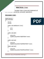 All Java Practicals-Balaji