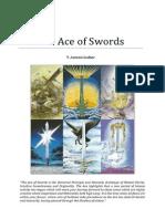 Pyreaus Tarot the Ace of Swords