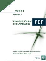 Planificacion Estrategica en El Marketing