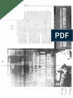 47- James, Daniel - Resistencia e Inetgración. Introducción; Primera Parte; Segunda Parte; Tercera Parte (Hasta Página 173)