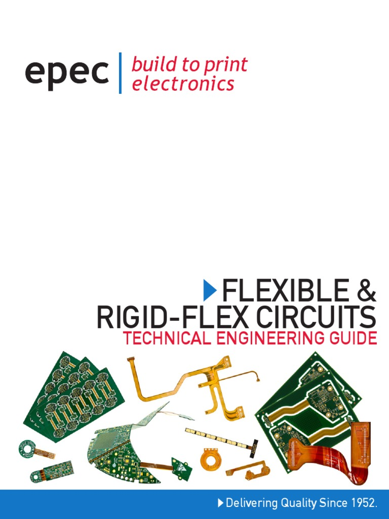 Epec Engineering Guide Flex And Rigid Pcbs Printed Circuit Flexible Boards Pcb Board Electromagnetism