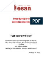 Entrepreneurship 1 Introduction