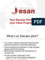 Entrepreneurship 3 Evelator Pitch and Value Proposition