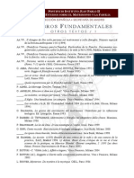 Livros Fundamentais de Ética Católica