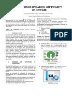 Gestion de Usuario, Software y Hardware