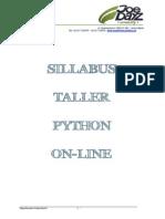 Curricula Python