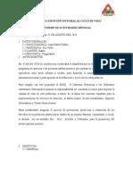 Informe Gam 2014 Rio Verde Agosto