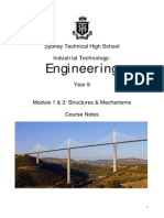 Yr 9 Structures Notes2013