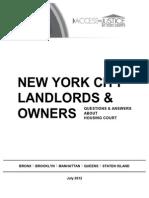 Landlord Booklet