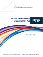 Guide Freedom of Information Act 1982
