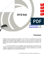 SYS ALTI Fr en Es De