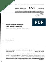 NCh 206 of.56 Acero Laminado en Barras Para Pernos Corrientes