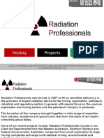 Radiation Professionals Company Key Services and History