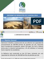 Refinería Del Pacífico Presentacion Rendicion de Cuentas 2014 v6