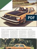 Experimental Safety Car Brochure 1972