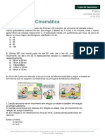 Listadeexercicios Fisica Introducao Cinematica 10-02-2015