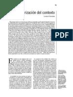 Grossberg, L. Teorización Del Contexto