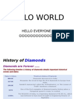 diamonds :)