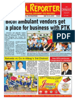 Bikol Reporter May 10 - 16 Issue