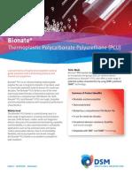 Bionate(r) Pcu Product Sheet