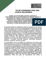 Adhesión Al Documento Consenso y Denuncia Al Cec Definitivo