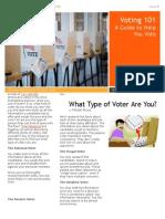 voter newsletter
