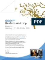 OsiriX Hands-On Workshop