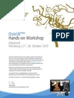 OsiriX Hands-On Workshop