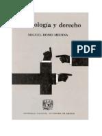 Criminologia y Derecho Romo Medina Unam (Libro)