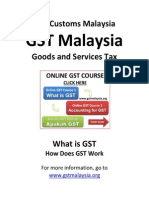 Business Guide to GST Customs Malaysia 6