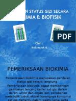 Pemeriksaan Biokimia dan Biofisik