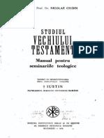 CIUDIN Studiul Vechiului Testament