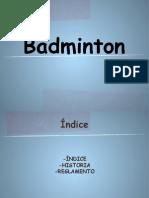 Badmintón