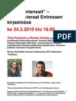Mainos Pystynen Ja Schatz
