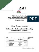 Railway Power System Proposal