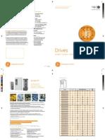 GE Drives Catálogo Español 2009