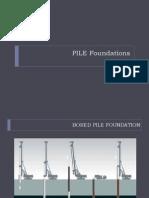 Pile Foundation FINAL