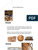 wood- types and alternatives