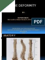Spine Deformity Baru